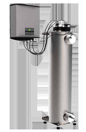 مدل راکتور مخزنی تصفیه آب با اشعه فرابنفش uv